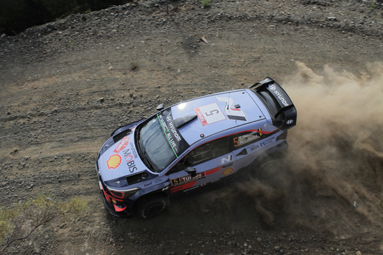 Thierry Neuville in Turchia