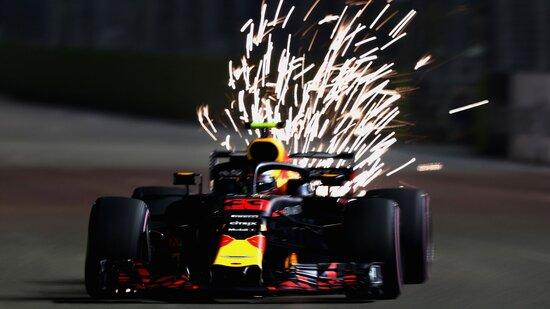 Secondo gradino del podio per Max Verstappen