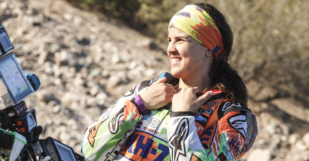 Laia Sanz: la regina del deserto