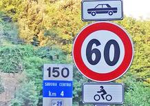 Limiti di velocità più bassi per le moto: sono leciti?