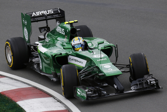 La Caterham CT05