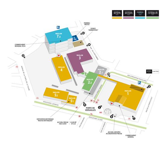 La mappa del Salone