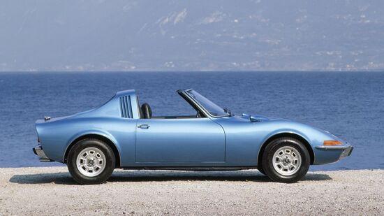 Il prototipo Opel Aero GT del 1969. Presentato al Salone di Francoforte del 1969, non ebbe seguito