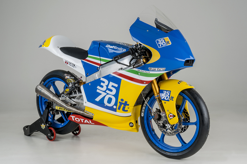 Presentato oggi il 3570 Team Italia Moto3