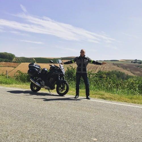 """Dal Rosa al Blu: """"diario di bordo di un giovane motociclista"""" (2)"""