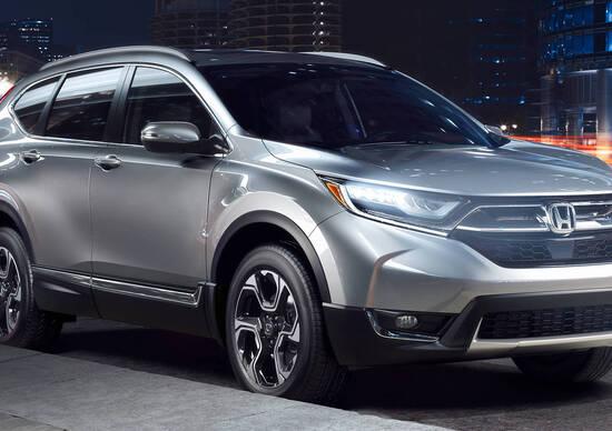 Honda CR-V, nel 2019 sarà anche ibrida
