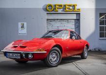 Opel GT, in pista ad Hockenheim per il 50° anniversario