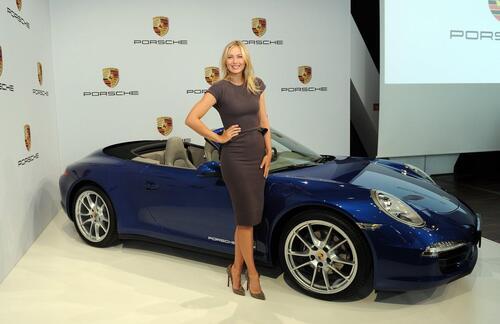 Maria Sharapova positiva al doping: sospesi i contratti, anche con Porsche (4)
