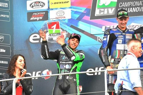 CIV 2018. Al Mugello Zannoni si laurea campione italiano Moto3 (4)
