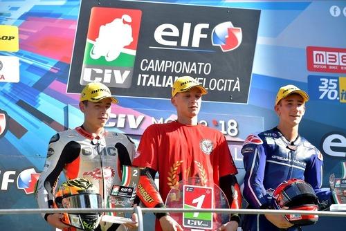 CIV 2018. Al Mugello Zannoni si laurea campione italiano Moto3 (7)