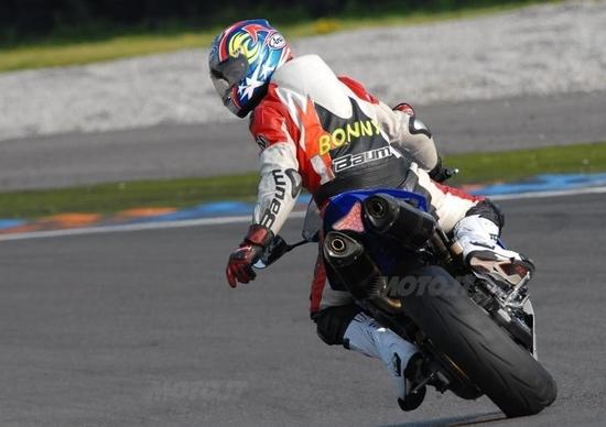 BER & Arai in pista con Riding School di Luca Pedersoli