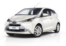 Toyota Aygo x-pure, la Aygo in abito bianco