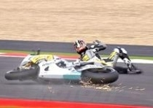 Frattura della vertebra per Aoyama nel GP di Silverstone