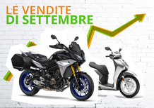 Mercato settembre: segna un +6,7%. Anche il 2018 cresce grazie alle moto. Le Top 100
