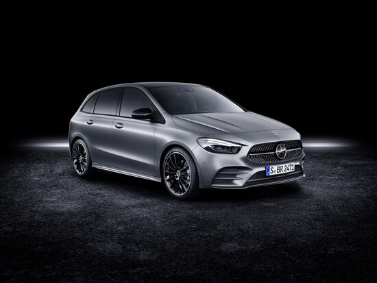 La nuova Mercedes Classe B al Salone di Parigi 2018