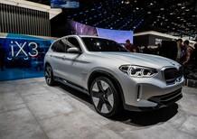 BMW Concept iX3 al Salone di Parigi 2018