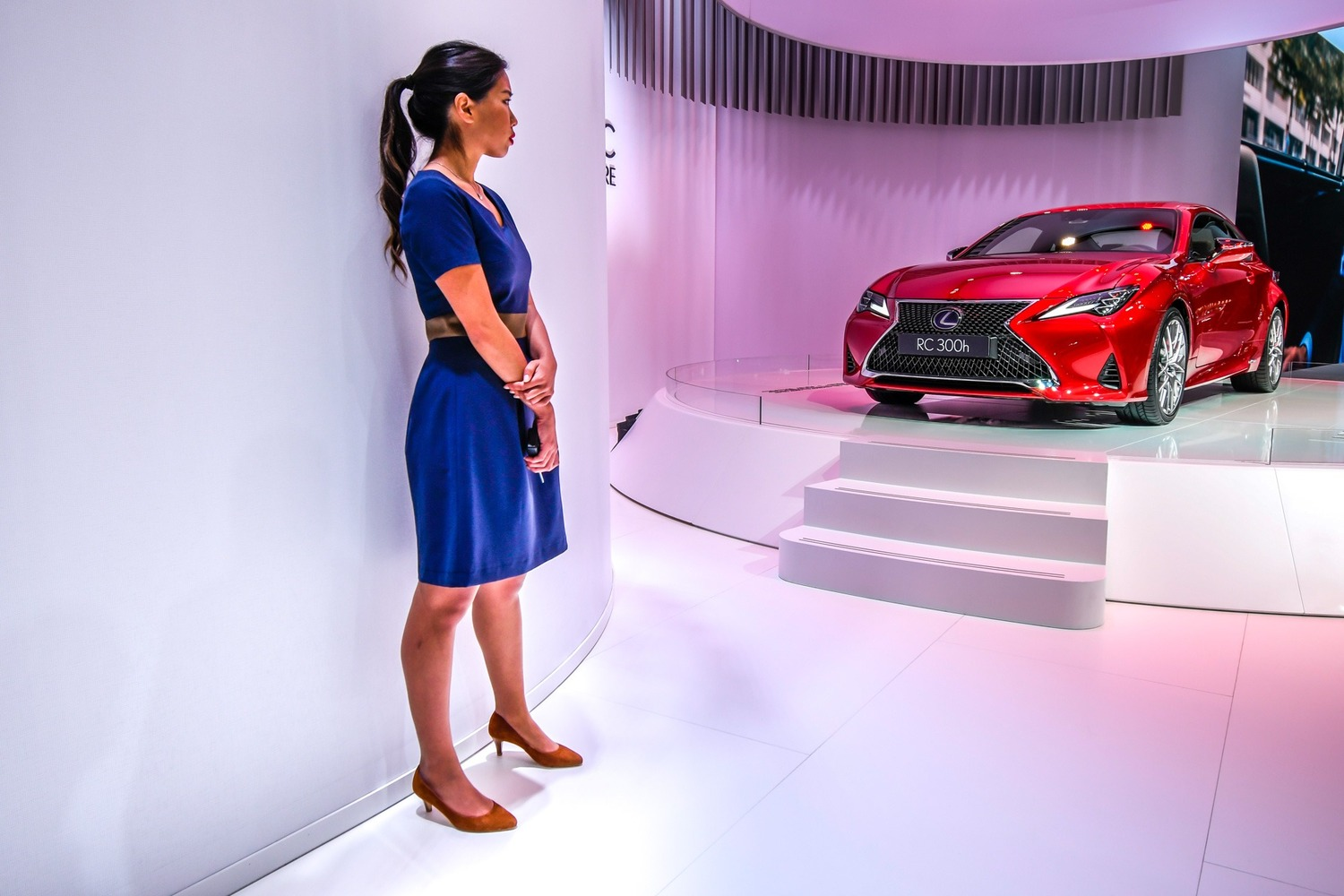 Lexus RC coupé al Salone di Parigi 2018