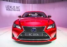 Lexus al Salone di Parigi 2018