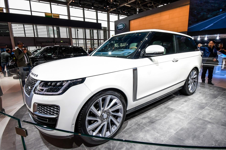 Land Rover al Salone di Parigi 2018