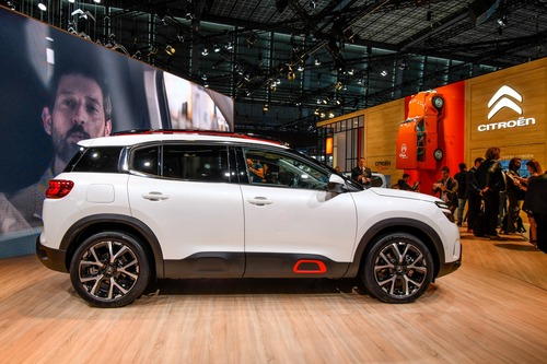 Citroën C5 Aircross 71° N Limited Edition al Salone di Parigi 2018 (5)