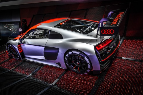 Nuova Audi R8 LMS GT3 al Salone di Parigi 2018 [Video] (2)