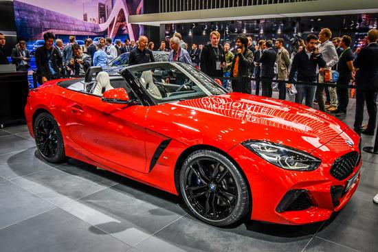 La nuova BMW Z4 al Salone di Parigi 2018