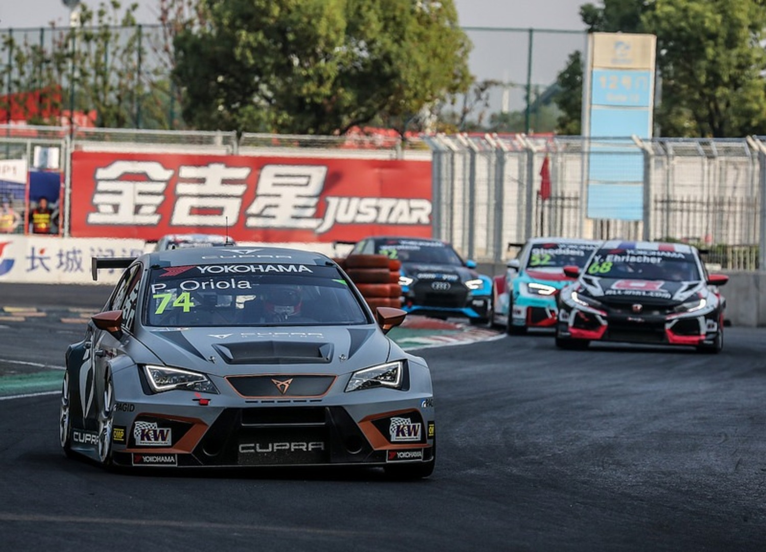 WTCR 2018 Cina, Wuhan: Gara2 alla Golf di Benanni [video]