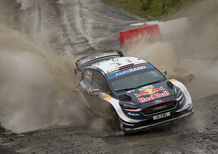 WRC18 Galles. Intrattabile Ogier (Ford), e fanno 5
