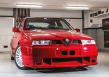 Alfa Romeo 155 GTA Stradale, all'asta l'unico esemplare