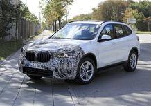 BMW X1 2019, le prime immagini di un prototipo ibrido
