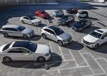 Mercedes, elettrificazione della gamma entro il 2022