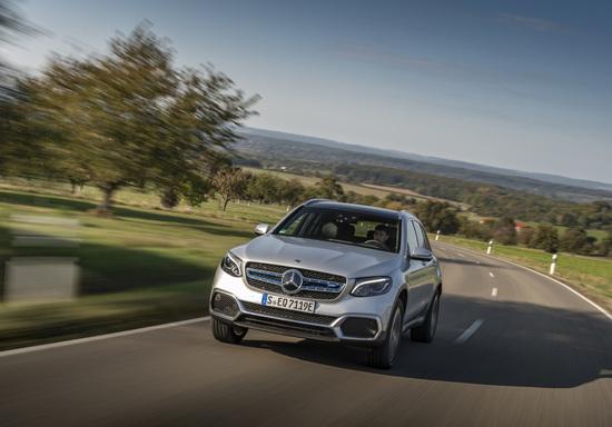 La nuova Mercedes GLC F-Cell