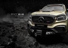 Mercedes Classe X 6x6 by Carlex. Roba da duri