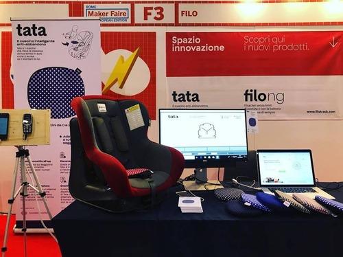 Filo Tata, e il seggiolino diventa antiabbandono con il cuscino smart