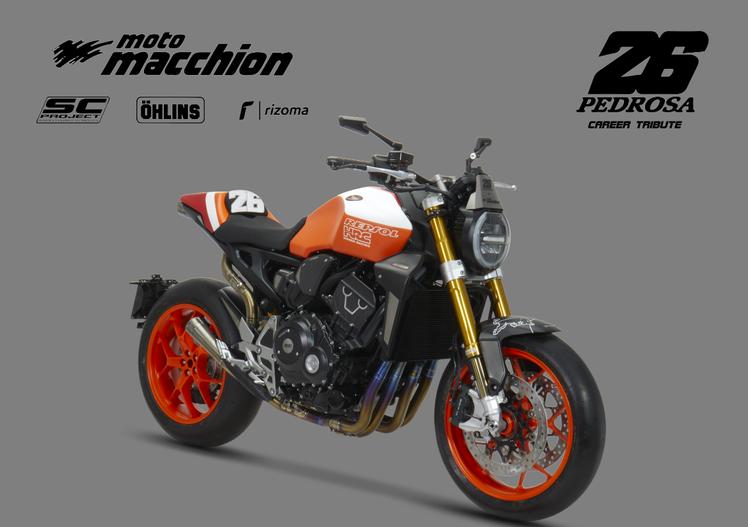 Moto Macchion: una Honda CB1000R tributo a Daniel Pedrosa