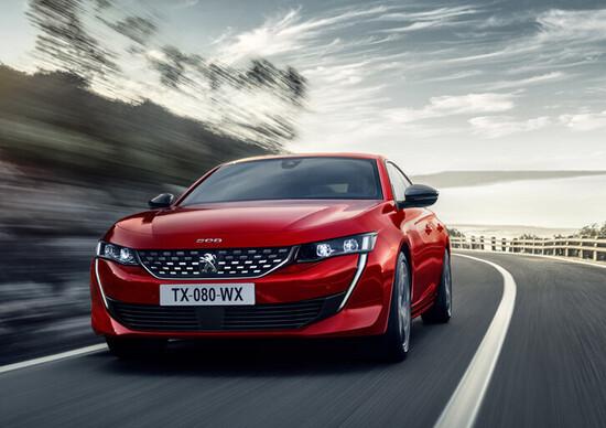 Peugeot 508, prezzi: si parte da 32.150 euro