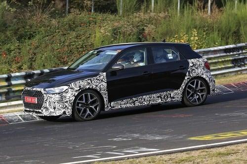 Audi A1 Allroad, avvistata al Nürburgring [Foto spia] (9)
