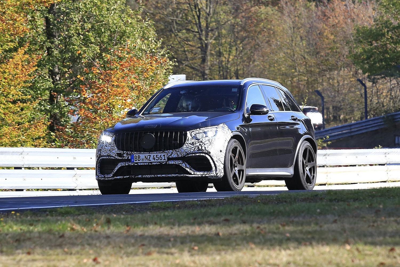 Mercedes-AMG GLC 63, restyling in arrivo