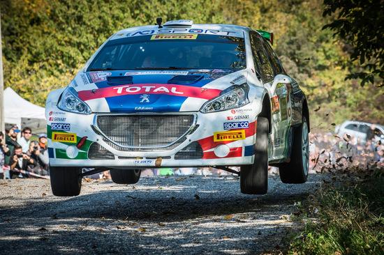 Paolo Andreucci al Rally Due Valli