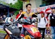 Dani Pedrosa diventa istruttore di guida in Indonesia
