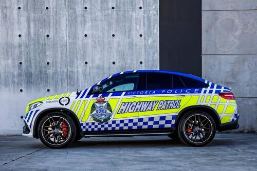 Mercedes-AMG GLE 63 S coupé al servizio della polizia australiana (3)