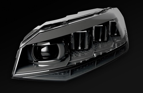 Volkswagen, Illuminazione: il futuro di gruppi ottici e segnalazioni visive dell'auto è già qui (6)