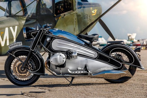 BMW R nineT Nostalgia Project, il boxer torna al 1934