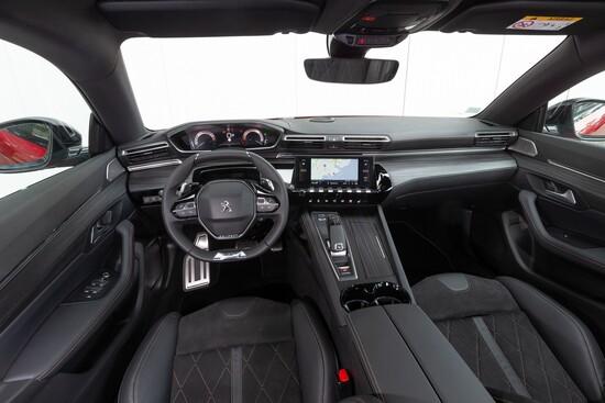 Gli interni della nuova Peugeot 508