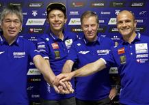 Rossi e Yamaha rinnovano per due anni
