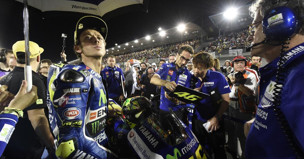 MotoGP 2016. Qatar GP. Rossi: Battuti, ma vispi