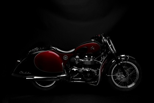 Charleston, la moto unica che celebra i 70 anni della Citroen 2CV