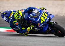 MotoGP 2018. Rossi: Nuovo assetto, pare funzionare