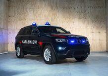 Jeep Grand Cherokee, blindata per l'antiterrorismo dei Carabinieri