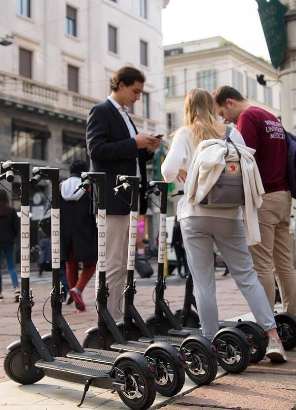 Monopattini elettrici in sharing a Milano. Al via il test